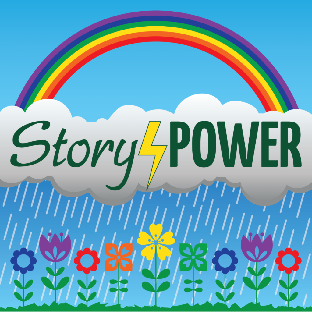 Guest on the Story Power podcast by Sage Woman Chronicles